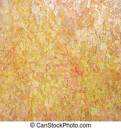 Floral Impressionist Abstract Background - Image of a Floral...