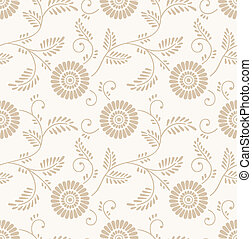 Floral invitation card background