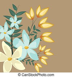 floral jasmine decoration leaves image