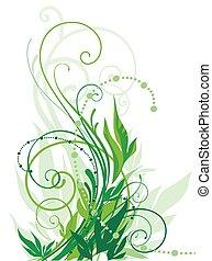 floral, kolken