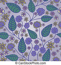 floral, lila, plano de fondo