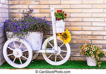 floral, mignon, conception
