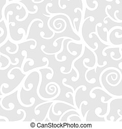 floral model, abstract, seamless, achtergrond