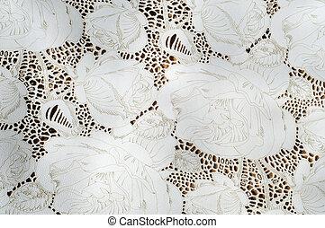 floral model, embossed, textuur, huid