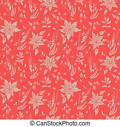 Floral nature pattern-06