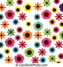 floral ontwerpen, achtergrond