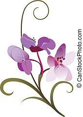 floral ontwerpen, element