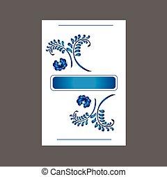 floral ontwerpen, kaart