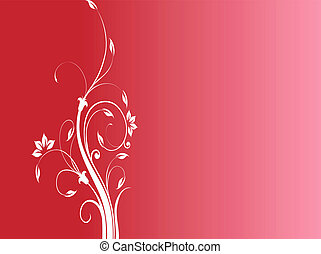 Background about floral decoration and beautiful colors