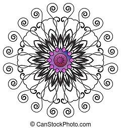 Floral Ornament Pattern
