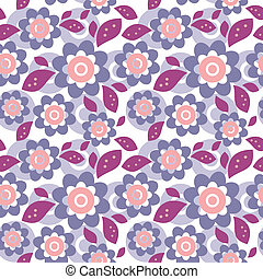 floral, ornament, seamless