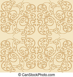 Floral Ornament Seamless Pattern 2
