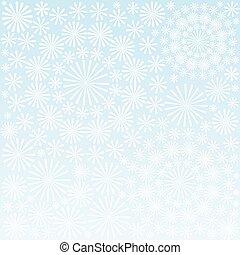 floral, ornamento, papel pintado, vector