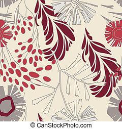 floral példa, menstruáció, seamless