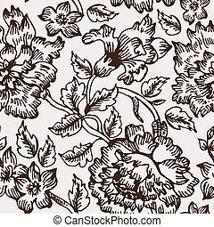 floral példa, seamless