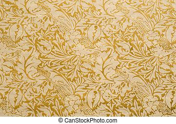Floral Paper Background
