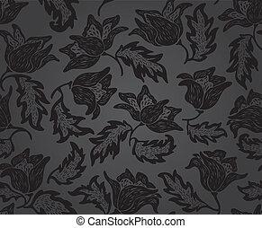 Floral pattern background pattern