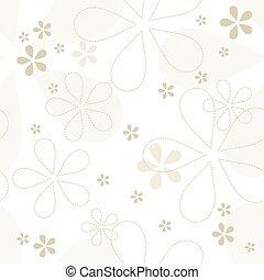 Floral pattern. Graphic design element.