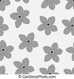Floral pattern vector design, background with flowers illustration.