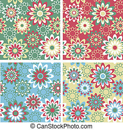 Floral Pattern Winter
