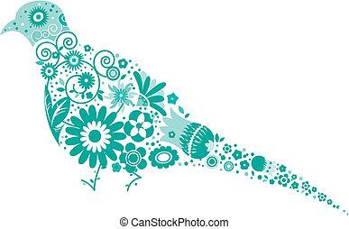 floral pigeon