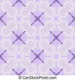 floral purple blueprint pattern