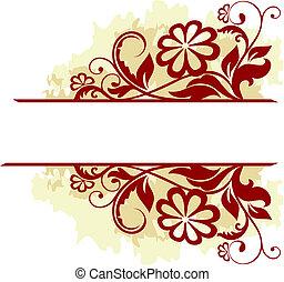 floral, quadro