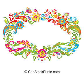 floral, Quadro,  summery, coloridos