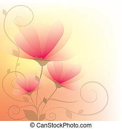 floral, résumé