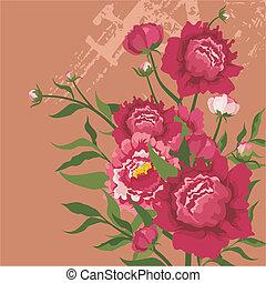 floral rajzóra