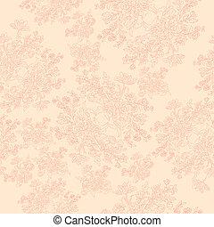 floral retro pattern