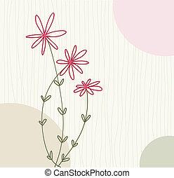floral, saudação