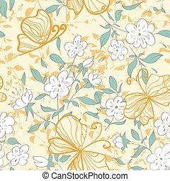 Floral seamles pattern.