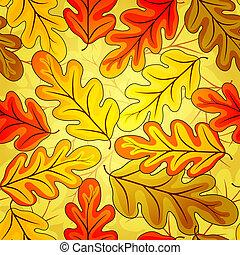 Floral seamless autumn`s pattern