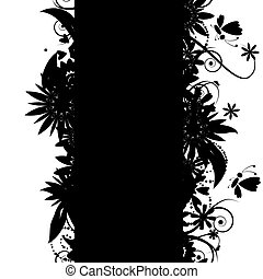 Floral seamless background for your design