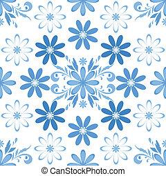 floral, seamless, fundo