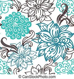 Floral seamless pattern