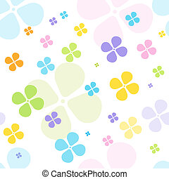Floral seamless pattern - Cute seamless pattern