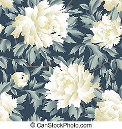Floral seamless pattern. Flourish garden background....
