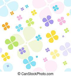 Floral seamless pattern - Cute seamless pattern