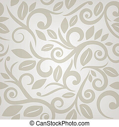 floral seamless pattern in beige and cream