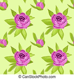 Floral seamless pattern in purple flowers for textile print, book cover, wallpaper, manufacturing, wrap, scrapbooking