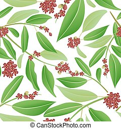 seamless pattern sandalwood