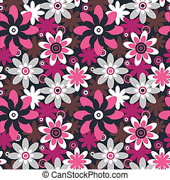 Floral seamless pattern. Seamless pattern can be used for ...