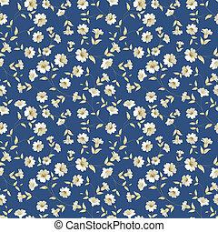 Floral seamless pattern - Seamless vintage floral pattern ...