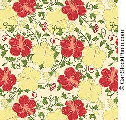 floral seamless pattern, vector des