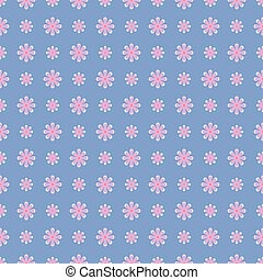 Floral seamless vintage pattern.