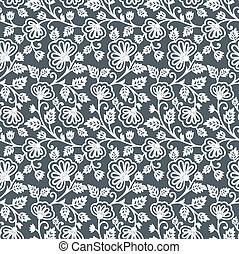 Floral seamless wallpaper design