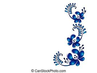 floral, sierlijk
