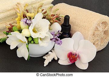 Floral Spa Treatment